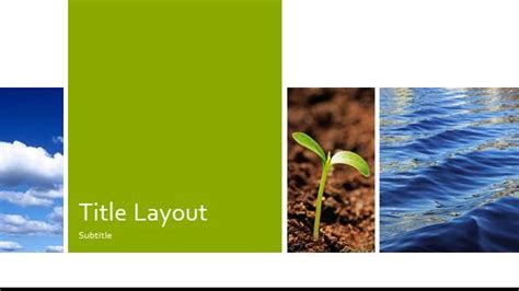 Free Nature Template For Powerpoint Online Free Ppt Template Free Nature