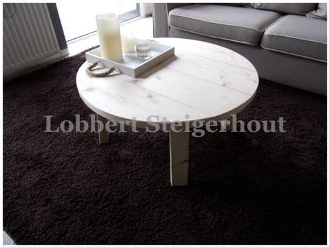 ronde salontafel 80cm nieuw ronde steigerhouten salontafel diameter 80 cm en