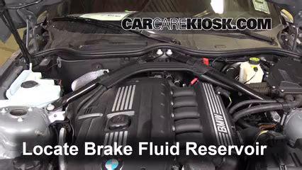 bmw 135i brake fluid 2009 2016 bmw z4 brake fluid level check 2011 bmw z4