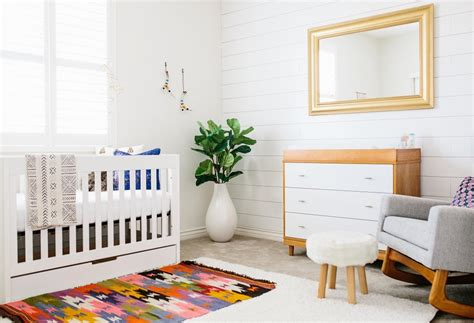 modern baby bedroom scandinavian modern baby nursery design with ethnic