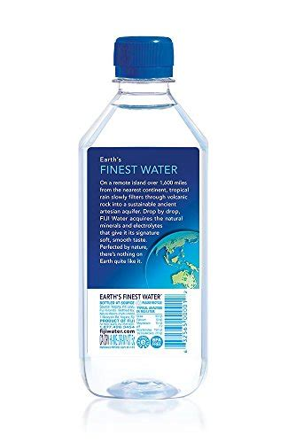 how much is a 24 pack of natural light fiji natural artesian water 16 9 fl oz pack of 24 buy