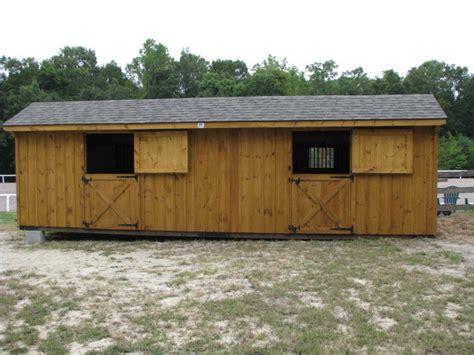 Amish Run In Sheds by Amish Barns Barn Run In Shed Amish Barns