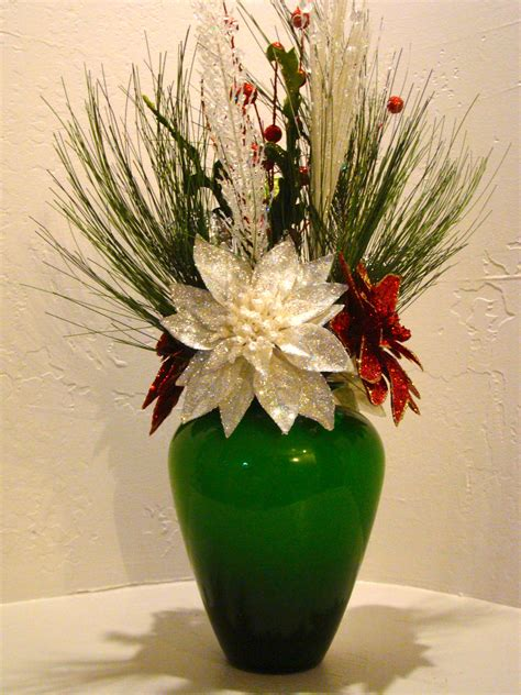 christmas silk floral arrangement 3003 christmas silk