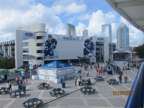amalie arena south regional garage