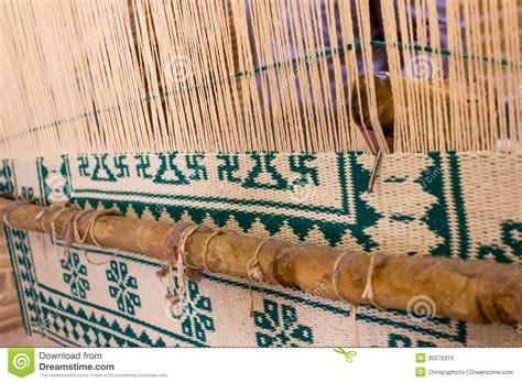 rug weaving machine carpet weaving in iran royalty free stock photo image 35070315