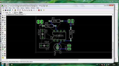 pcb design tutorial using eagle tutorial dise 241 o pcb con eagle parte 3 layout youtube