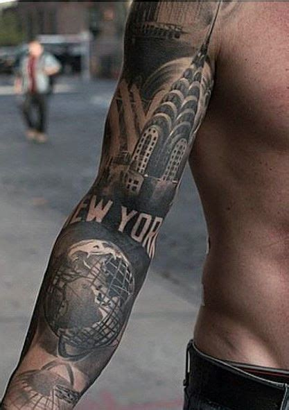 nyc tattoo pinterest new york sleeve tattoo ideas for men tattoos pinterest