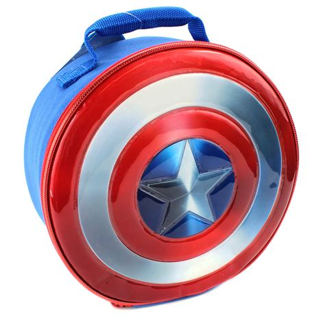 Captain America Boyset captain america 16 inch backpack and lunch box set