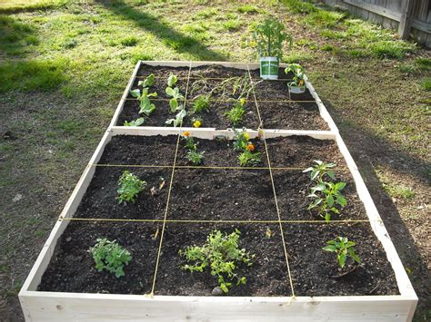 how to make an easy square foot garden todo espa 241 ol