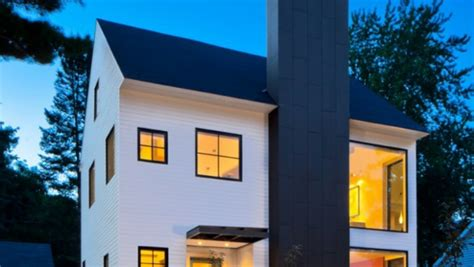 elegant house design for a small house kleines haus quartersawn mit modernem interieur