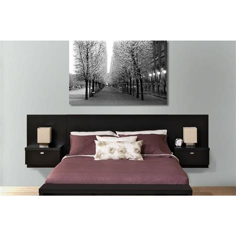 floating queen headboard set prepac series 9 1 piece black queen bedroom set bhhq 0520