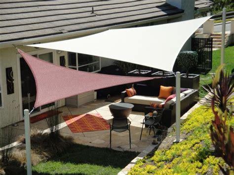 patio shade sails covers dennis s garden