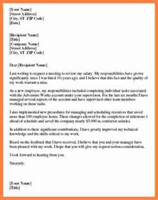 Sle Letter No Raise Pay Raise Request Template 28 Images Sle Letter Requesting A Raise Sle Business Letter Sle