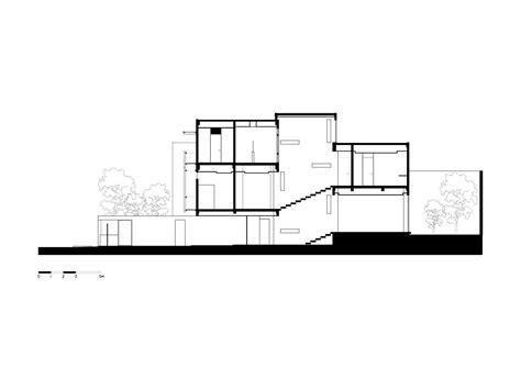 split level house section gallery of split level house indra tata adilaras 20