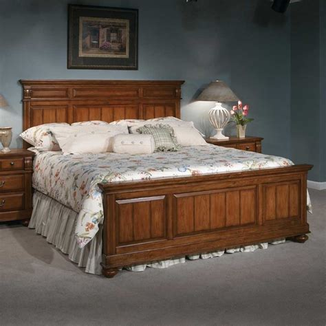 Broyhill Bedroom Furniture Discontinued with Broyhill Furniture Glenmore Collection Light Cherry Cottage Bedroom Set Item 4920 40 4261
