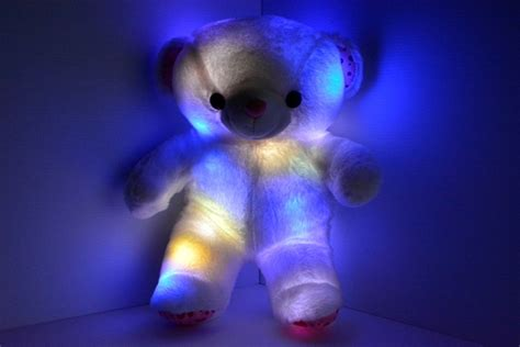 light up pillow pets led light up teddy bear eternity led