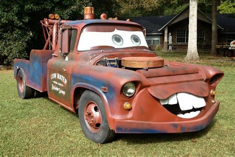hoonigan cars real life real life tow mater truck disney cars that s art on