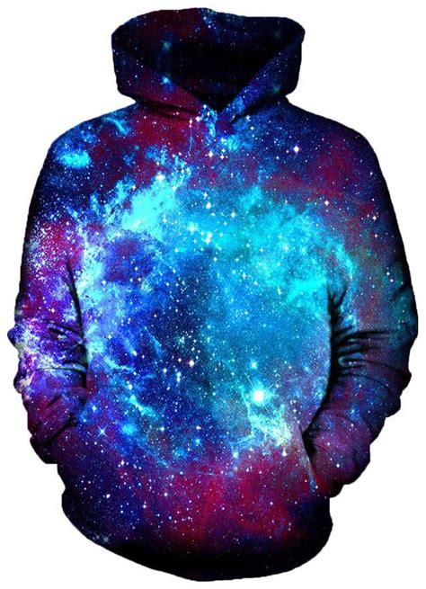 Blue Galaxy Print S M L Dress 44349 blue galaxy hoodie