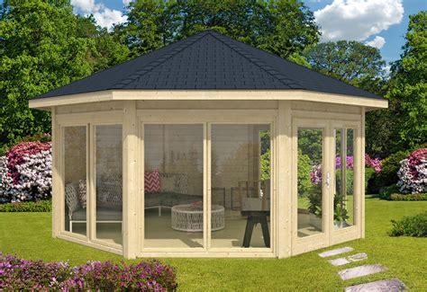 Pavillon 4x4 Holz by Gartenpavillon Holz Mit Stoffdach Bvrao