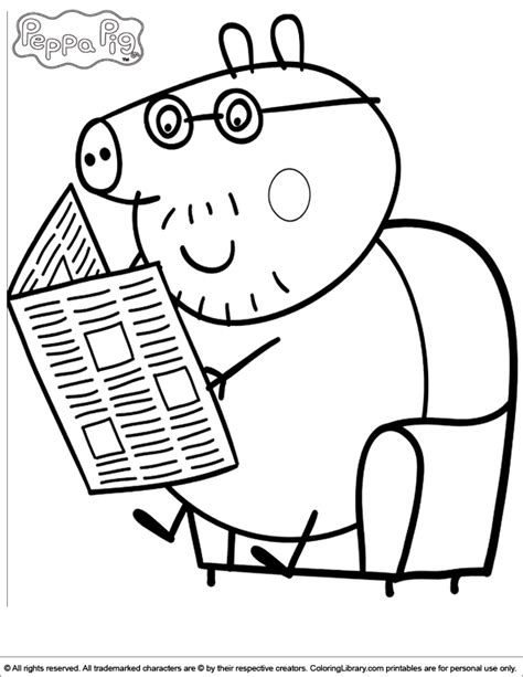 peppa pig coloring pages peppa pig colouring pictures peppa pig coloring picture