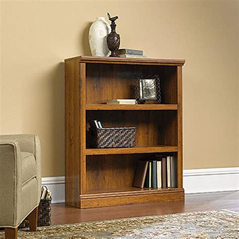 Sauder Oak Bookcase Sauder Oak Open Bookcase 411815 The Home Depot