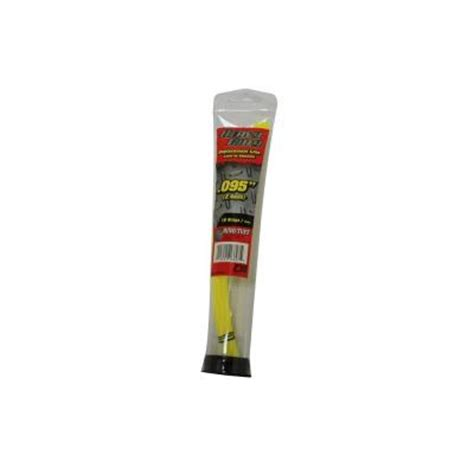rino tuff heavy duty 0 095 in replacement line strips 18