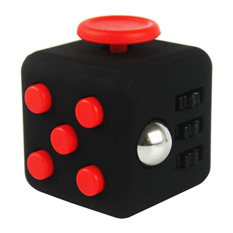 High Quality Fidget Cube Spin Click Glide Flip Roll Breath T1910 fidget cube spin roll flip glide click toys