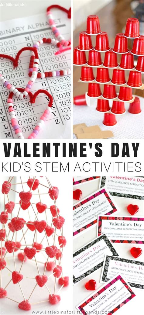 valentines activity valentines day stem activities and challenges for