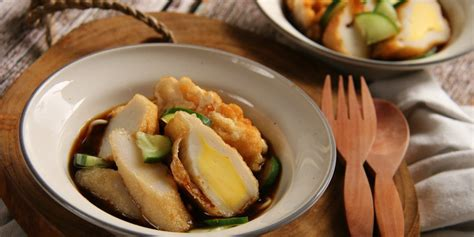 Pempek Asli Lenjer By Chef pempek salmon mozzarella bagaimana cara buatnya uzone