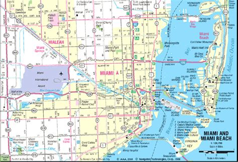 miami map maps of miami