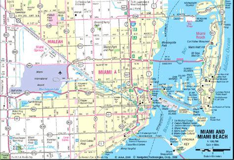 maps of miami