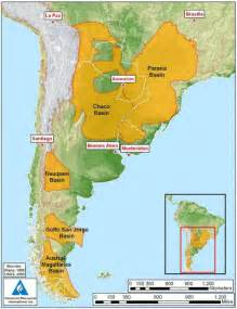 south america map basin chevron and ypf to explore argentina tight and shale gas