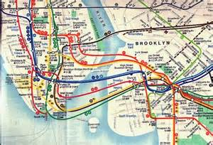 New York City Subway Street Map by Debating Subway Map Form And Function Second Ave Sagas