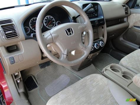 Interior Crv 2003 saddle interior 2003 honda cr v lx photo 47520445 gtcarlot