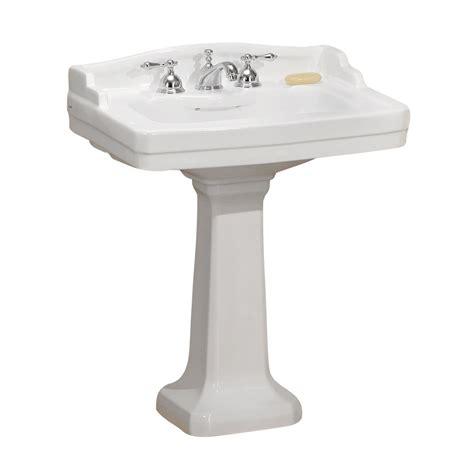 pedestal bathroom sinks at lowes cheviot 553 wh essex pedestal sink white lowe s canada