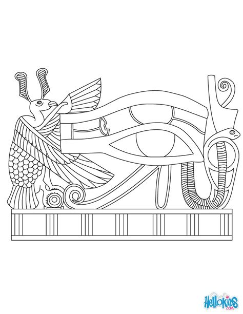 coloring pages for egyptian hieroglyphs egyptian hieroglyphics coloring pages