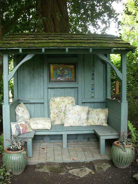 easy   ideas building  small backyard seating