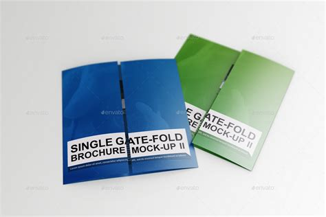 single fold brochure template single gate fold brochure mock up 2 by massdream