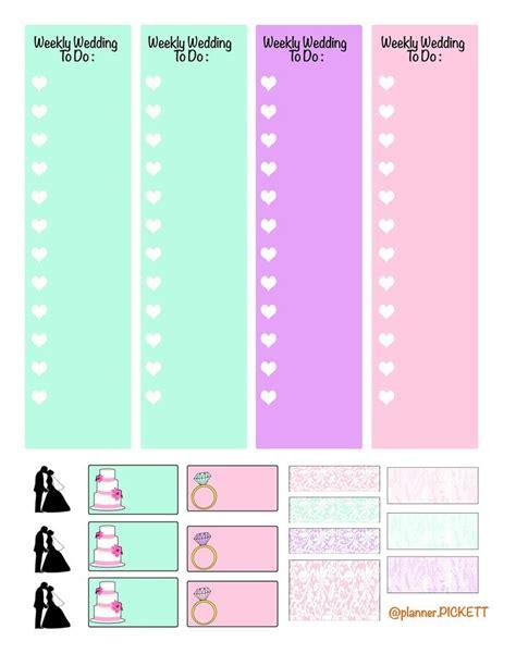 cute wedding planner printable best 25 erin condren wedding planner ideas on pinterest