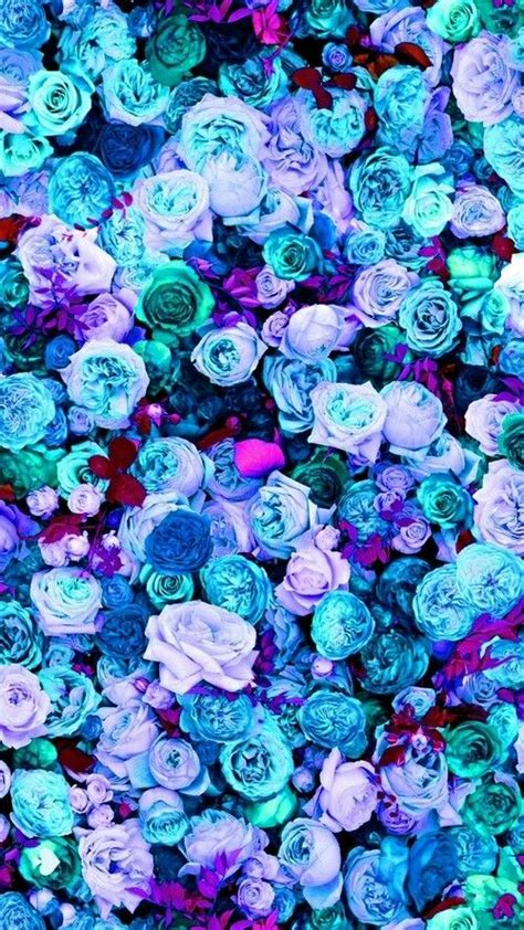 mint blue lilac teal pink peonies roses floral iphone