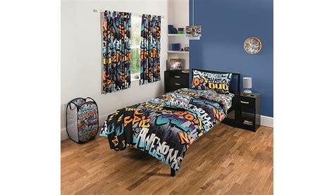 graffiti bedding and curtains graffiti curtains home garden george