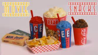 movie theater snacks how to make miniature popcorn icee