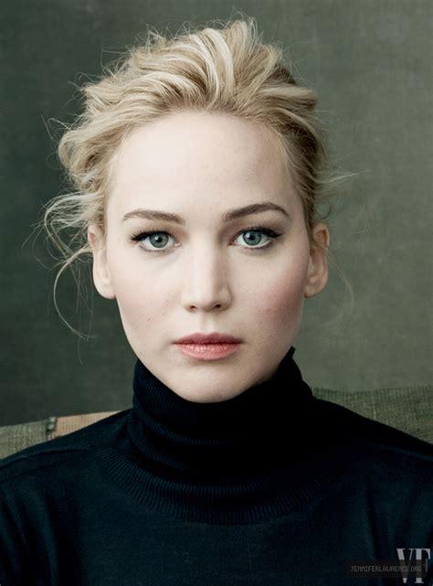 Vanity Fair Oscar Portraits Jennifer Lawrence Network