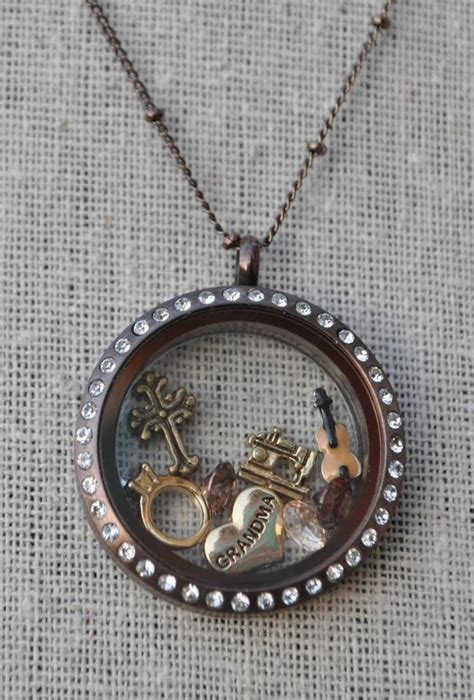 origami owl chocolate locket discover and save creative ideas
