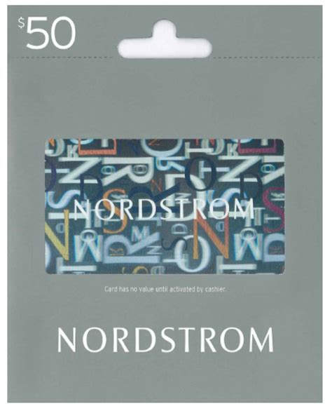 Nordstrom Gift Card - amazon free 10 promo code with 50 nordstrom gift card purchase points miles martinis