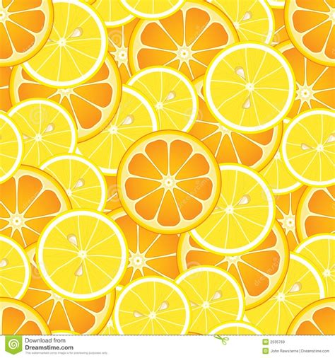 pattern of image seamless oranges and lemons royalty free stock images