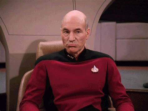 Picard Meme - disappointed picard meme templates pinterest