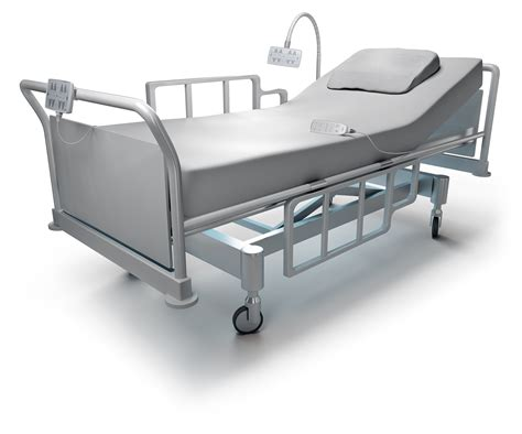5th driving wheel for hospital beds with openbus systems