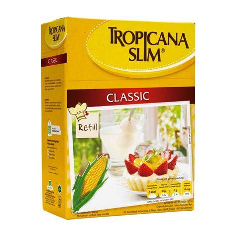 Tropicana Slim Sweetener Lemon 25 S halal tropicana slim classic sweetener low calorie sugar