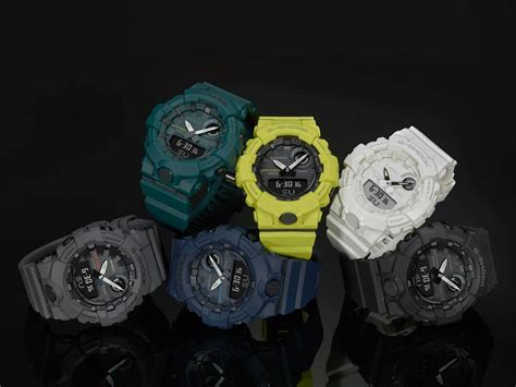 Gshock Gba List Blue g shock g squad gba 800 with step tracker and bluetooth